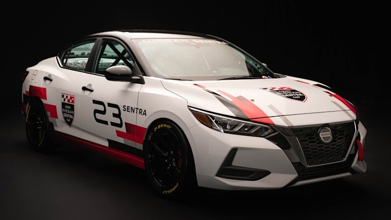In Canada, the Nissan Sentra is a racecar