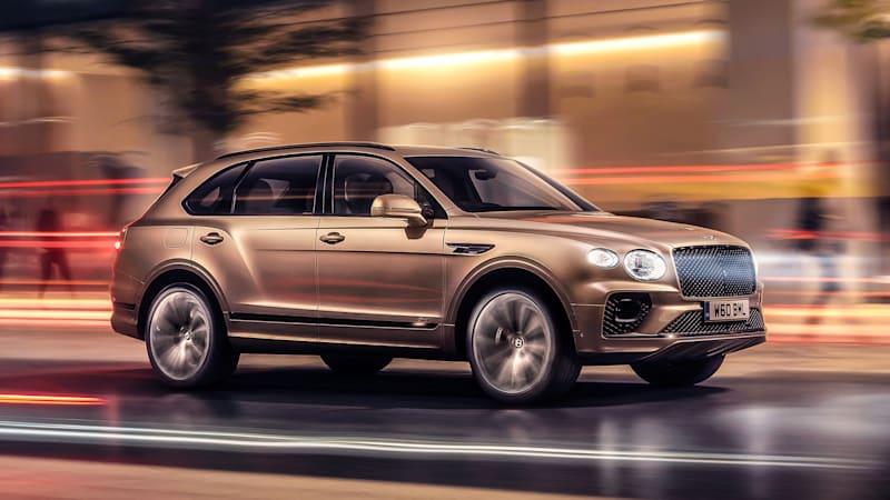 2021 Bentley Bentayga Hybrid revealed with tech improvements, same powertrain