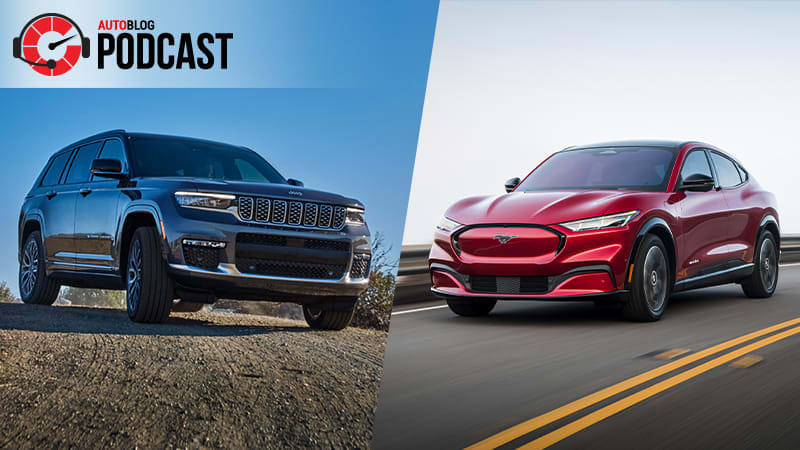CES 2021, Jeep Grand Cherokee L, and driving the Ford Mustang Mach-E and F-150 PHEV | Autoblog Podcast #660