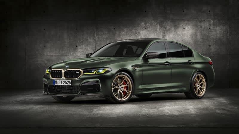 2022 BMW M5 CS revealed as the 627hp competition to the Competition