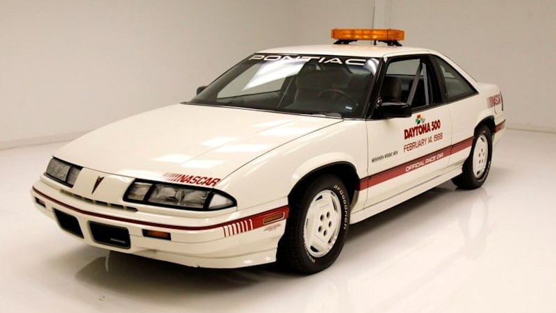 This 1988 Pontiac Grand Prix Daytona 500 pace car could be yours