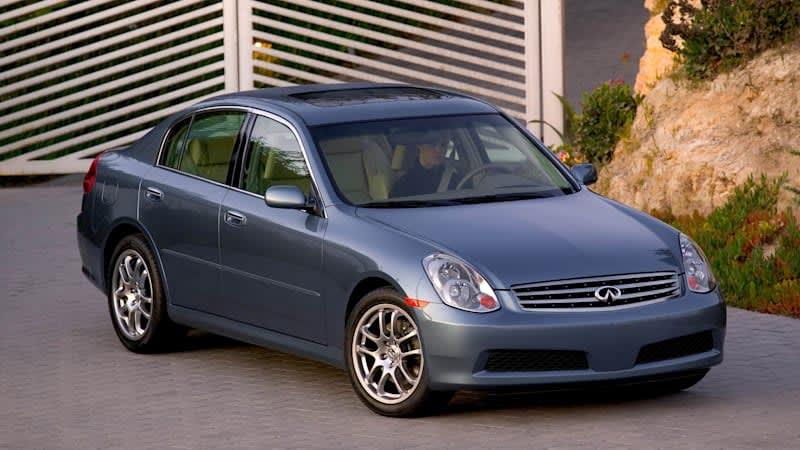 Used Vehicle Spotlight: 2005-2006 Infiniti G35 sedan