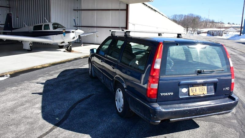Used Volvo V70 wagon for $20 million includes New York 'New York' vanity plate