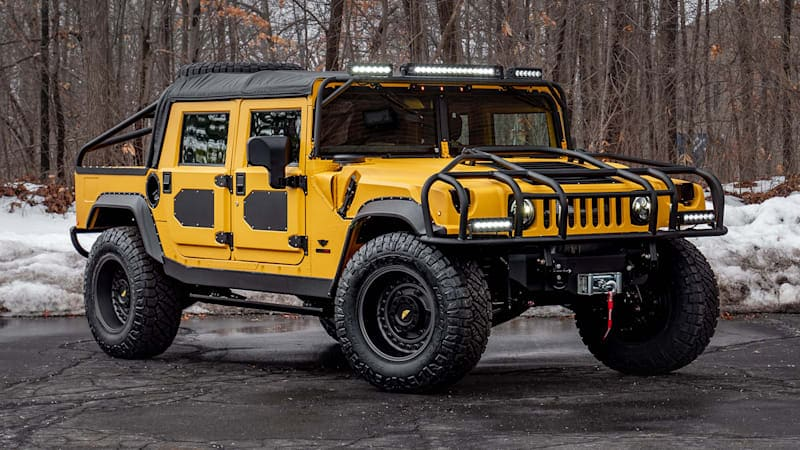Mil-Spec M1-R First Drive Review   The ultimate Hummer H1 gets better