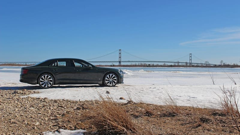 2021 Bentley Flying Spur V8 First Drive Review | Making a scene at the ends of the Earth