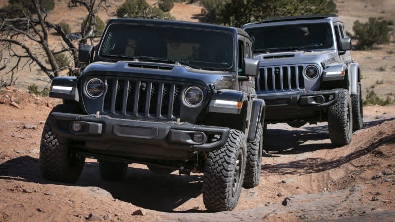 2021 Jeep Wrangler Rubicon 392 First Drive Review | Tackling Moab with 470 horses