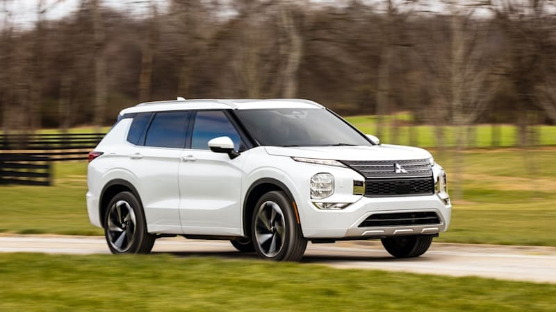2022 Mitsubishi Outlander First Drive Review   More than a redesign