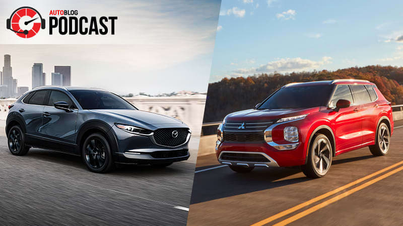 A pair of Mitsubishis, the Mazda CX-30 and electric incentives | Autoblog Podcast #673