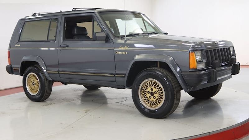 Who knew? Apparently the two-door '88 Jeep Cherokee Limited was a thing