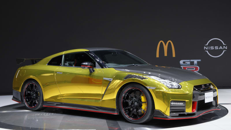 Nissan GT-R NISMO in McDonald's livery is the ultimate in fast food