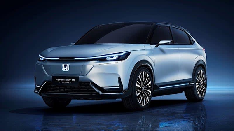 Honda SUV e:prototype revealed at Shanghai Auto Show
