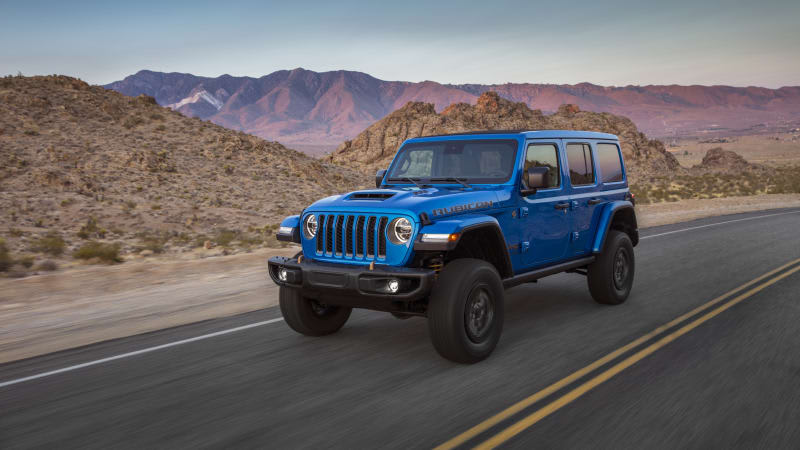 2021 Jeep Wrangler Rubicon 392 Road Test Review   Pounding pavement the American way