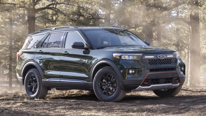 2021 Ford Explorer Timberline adds legitimate off-road chops