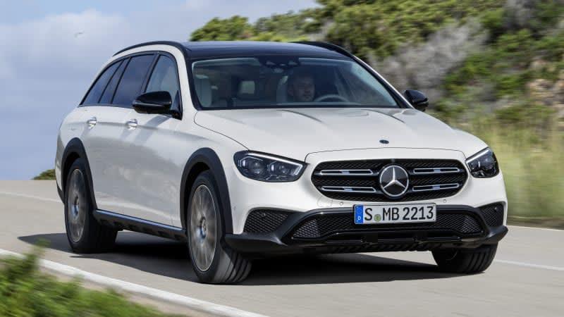 2021 Mercedes-Benz E 450 All-Terrain First Drive Review | It's a poseur