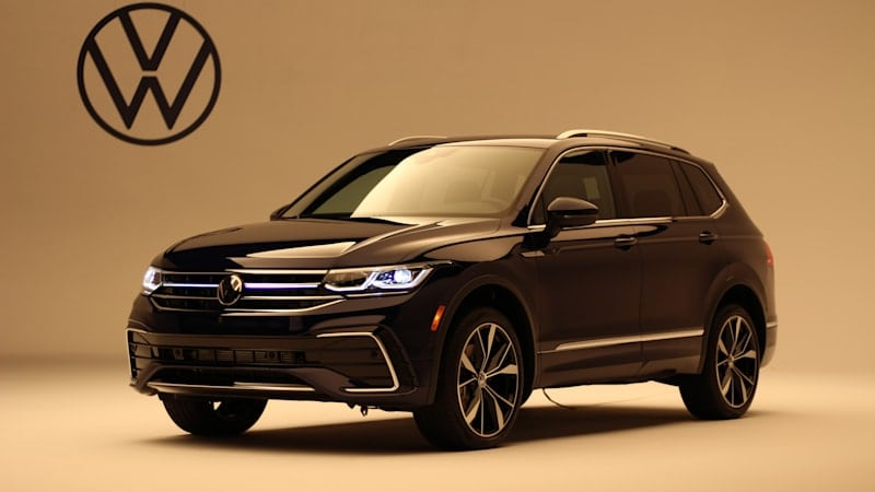 2022 VW Tiguan makes U.S. debut with added tech, classier styling