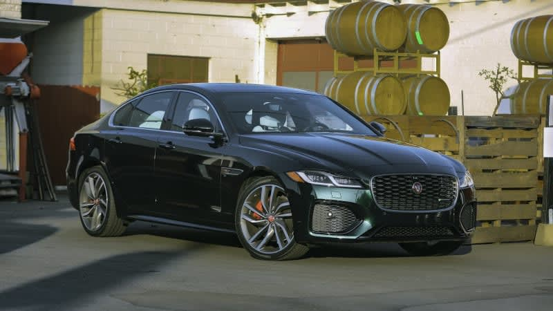 2021 Jaguar XF First Drive Review   The final saloon to wear a Leaper?