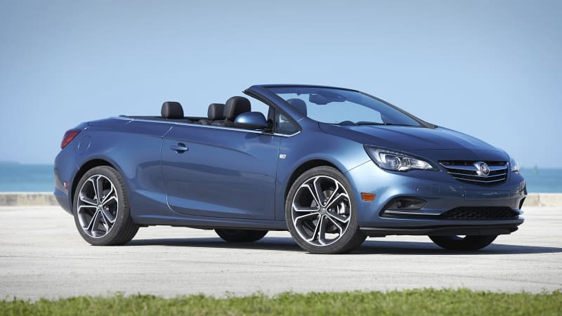 The last Buick Cascada unceremoniously rolls off the assembly line