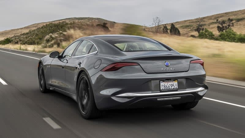Karma wants to build hydrogen-powered cars that produce their own fuel