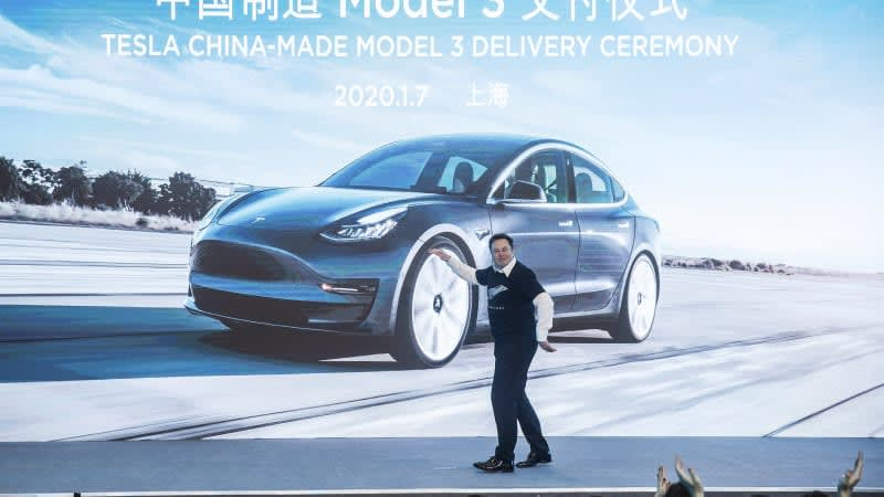 Tesla sales fall in China while Musk polls Twitter on Dogecoin