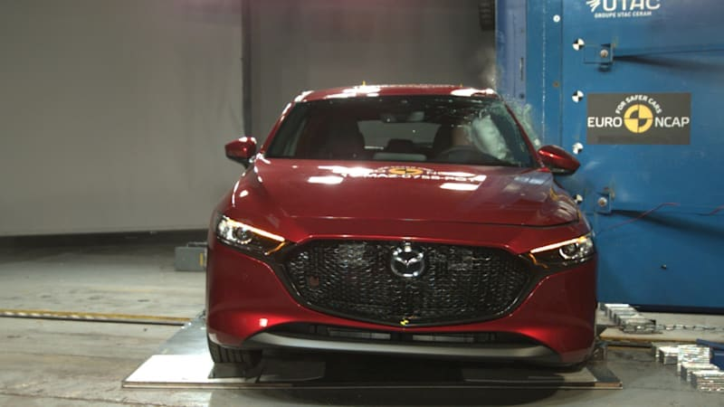 5 stars in Euro NCAP crash tests for 5 new cars available in U.S.