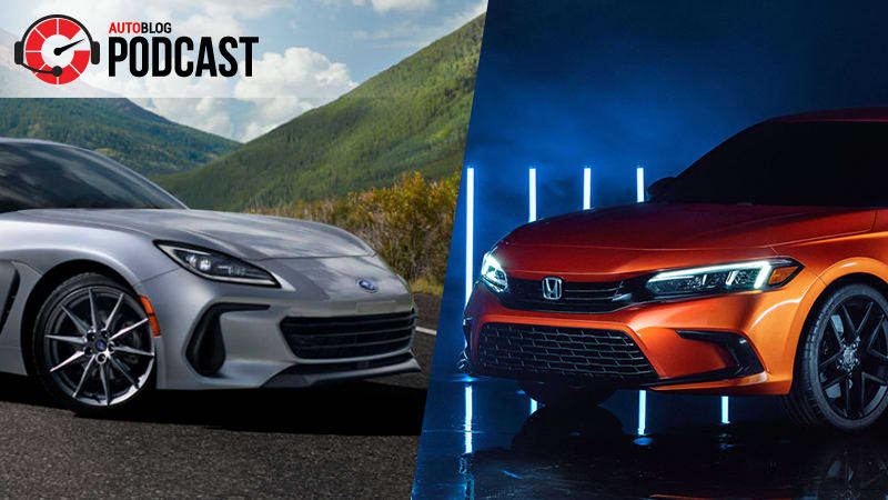 2022 Honda Civic, Subaru BRZ and more debuts from the not-L.A. Auto Show   Autoblog Podcast #654