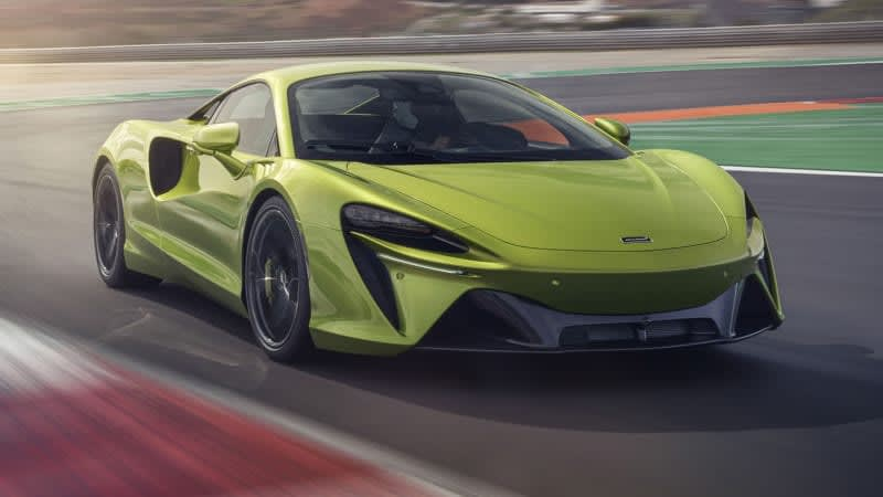 McLaren Artura is a thoroughly new hybrid supercar