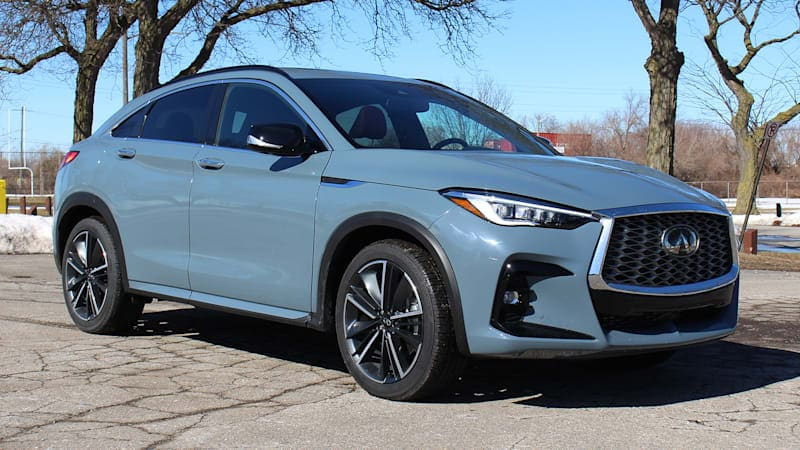 2022 Infiniti QX55 First Drive Review | A gorgeous value
