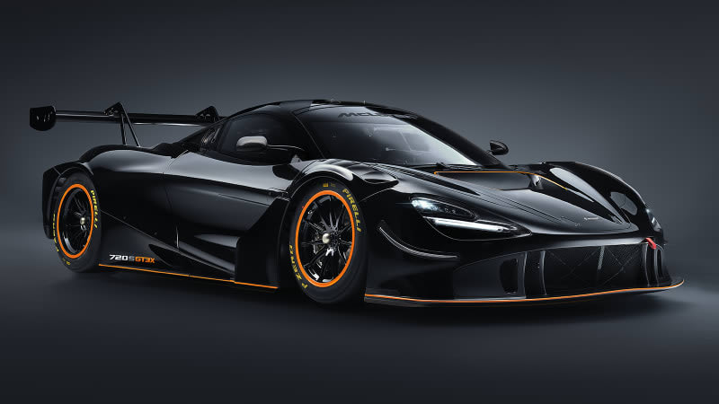 McLaren 720S GT3X throws out the rule book to go faster than a race car