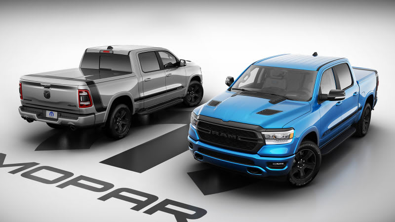 2021 Ram 1500 Mopar '21 Edition is a very-limited-production pickup