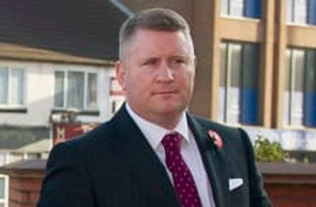 Paul Golding of Britain First pranked by BBC show
