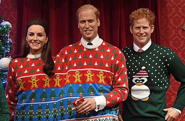 The Royal Family are winning with their ugly festive knitwear