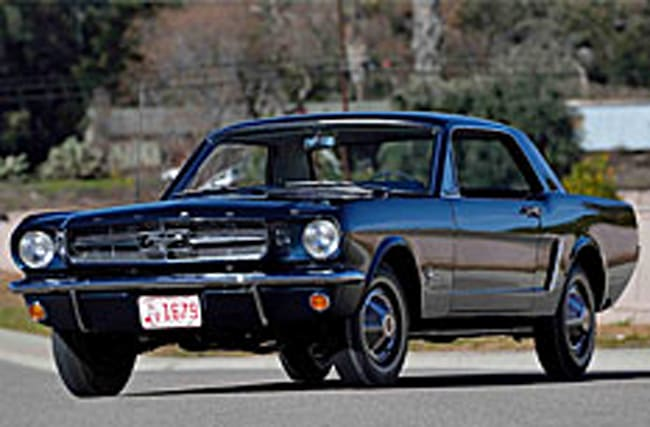 Gallery: Ford Mustang number 00002 to go under the hammer