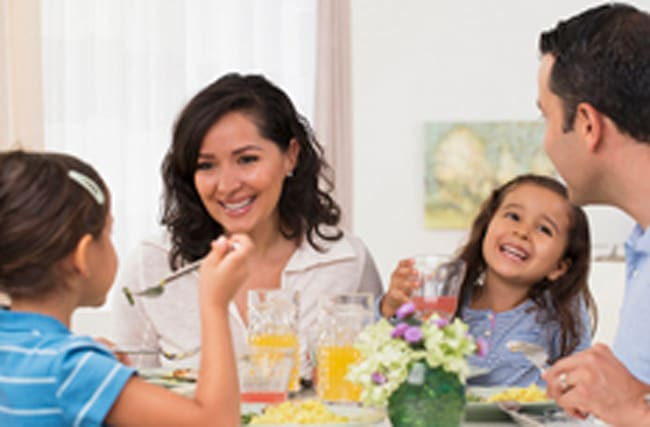 Does it matter if families don't eat together?