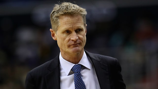 the best attitude a43d6 4bf33 The Golden State Warriors announced Steve Kerr will not coach game three  against the Portland Trail Blazers due to an illness.
