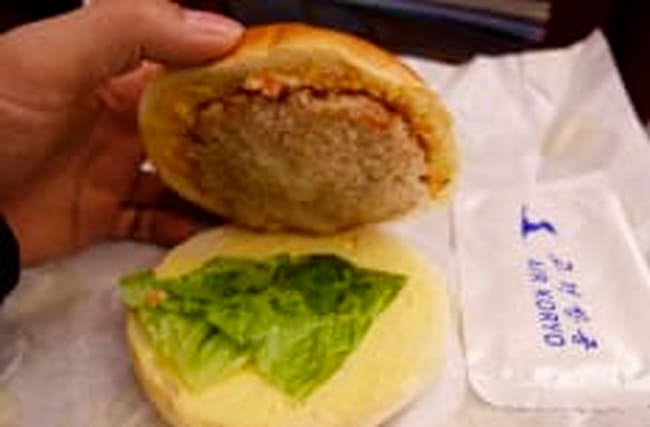 North Korea's airline food looks pretty unappetising