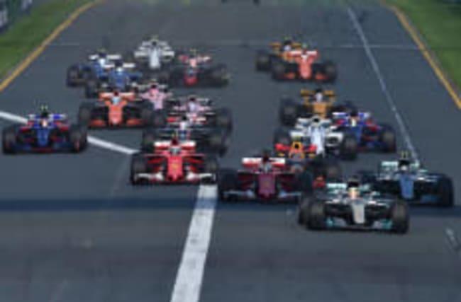Who won the first Formula 1 Grand Prix of the season?