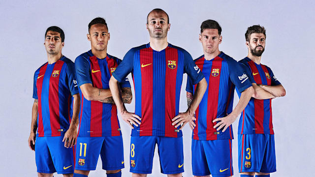 b2d8babbb Barcelona revert to tradition with new kit - AOL
