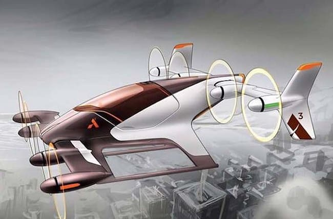 Just like Back To The Future: Airbus reveals flying vehicle project