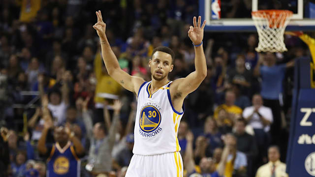 Three and easy night - Curry reflects on record-breaking