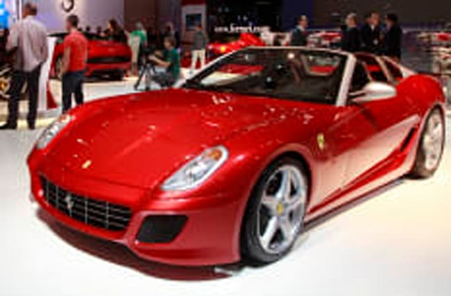 Limited edition Aperta is fastest Ferrari ever to be allowed on road