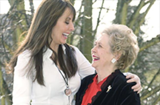 Carol Vorderman thanks fans for support after mum's cancer news