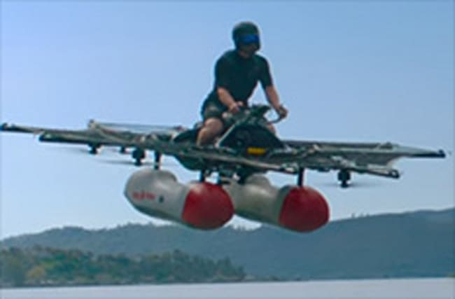 This 'flying car' may be the closest thing to a podracer ever built