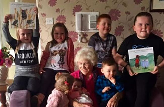 Great-grandmother becomes first-time author at 85