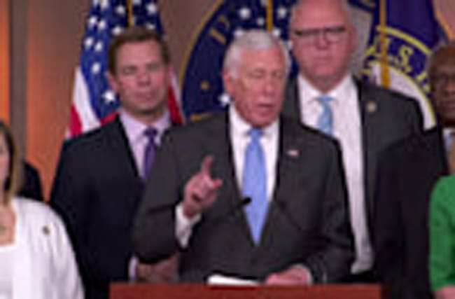 "House Dems celebrate ""victory for the Affordable Care Act."""