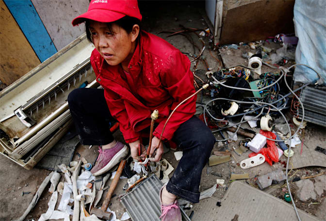 The Big Picture: Beijing's urban e-waste economy