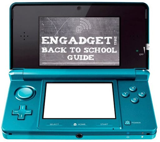 Engadget's back to school guide 2011: gaming