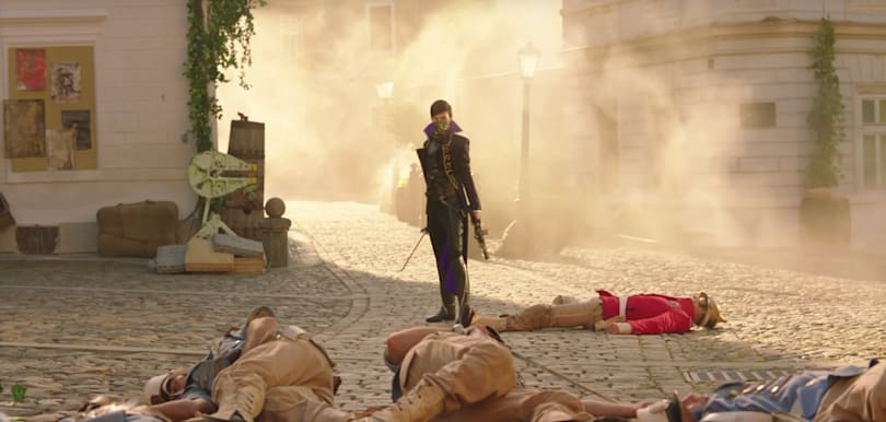 'Dishonored 2's' live-action trailer is all about glorious revenge