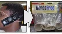 "Internet fad inspires laughable ""hands free"" kit"