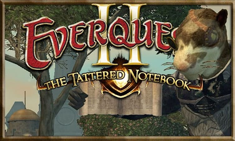 The Tattered Notebook: Decisional paralysis in EverQuest II
