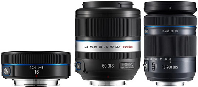 Samsung launches five more i-Function NX Series lenses, we long for broader compatibility
